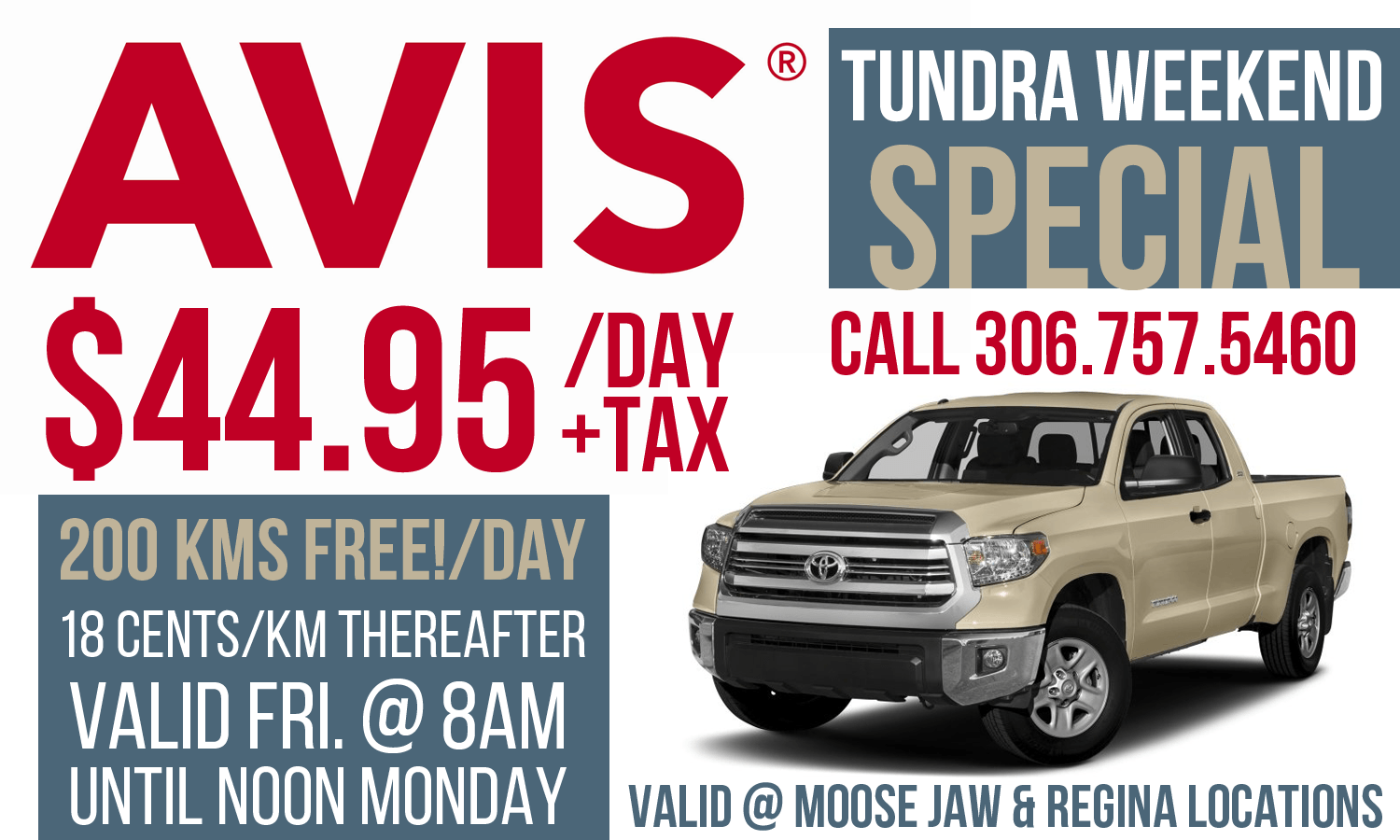 Tundra weekend special