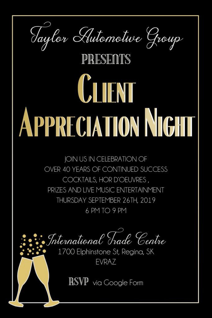 Client Appreciate Night